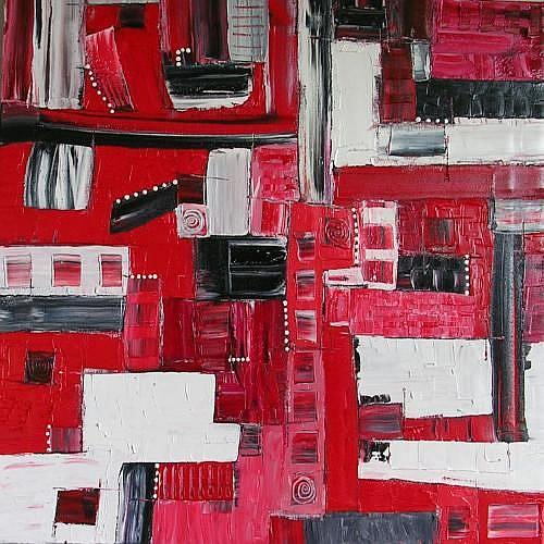 Art: TIME AND SPACE (SOLD) by Artist Dawn Hough Sebaugh