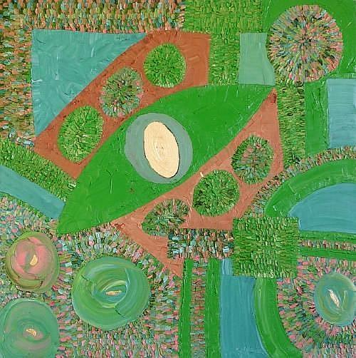 Art: PARADISE (SOLD) by Artist Dawn Hough Sebaugh