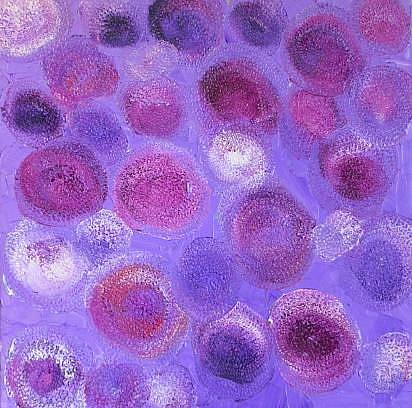 Art: IN THE ZONE (SOLD) by Artist Dawn Hough Sebaugh