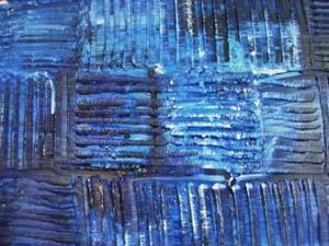 Detail Image for art GOT THE BLUES (SOLD)
