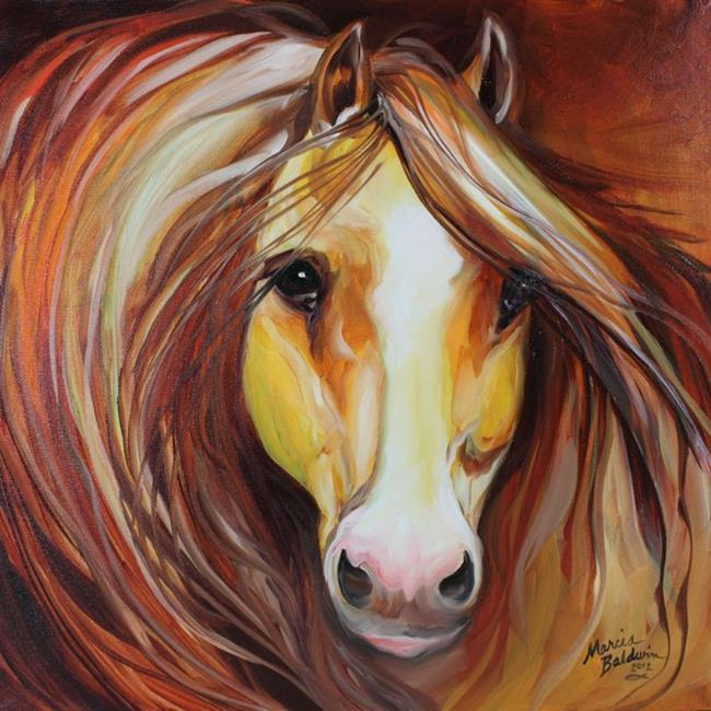 Art: SIENNA MANE by Artist Marcia Baldwin
