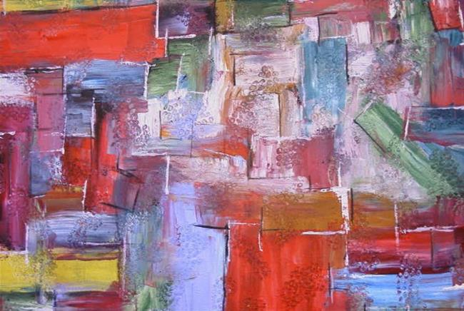 Art: SIZZLE (SOLD) by Artist Dawn Hough Sebaugh