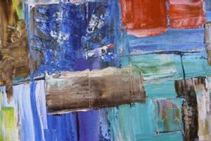 Detail Image for art OASIS (sold)