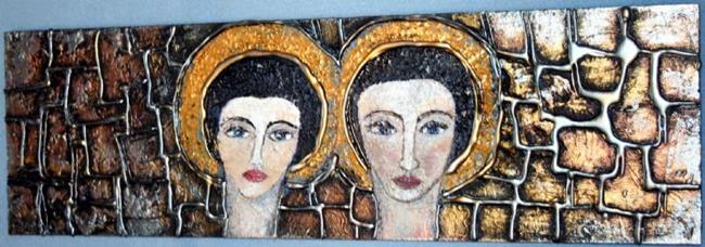 Art: THE ANGELS by Artist LUIZA VIZOLI