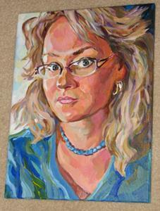 Detail Image for art Self-portrait