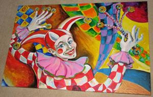 Detail Image for art The Clown