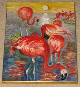 Detail Image for art Flamingo