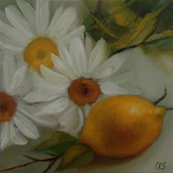 Art: Lemony Shastas by Artist Christine E. S. Code ~CES~