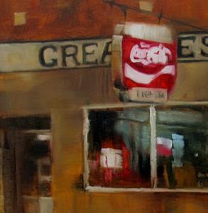 Detail Image for art Cafe at Dusk