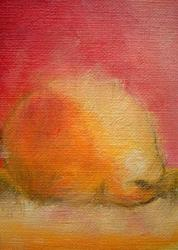 Art: Pear 5 (SOLD) by Artist Cyra R. Cancel