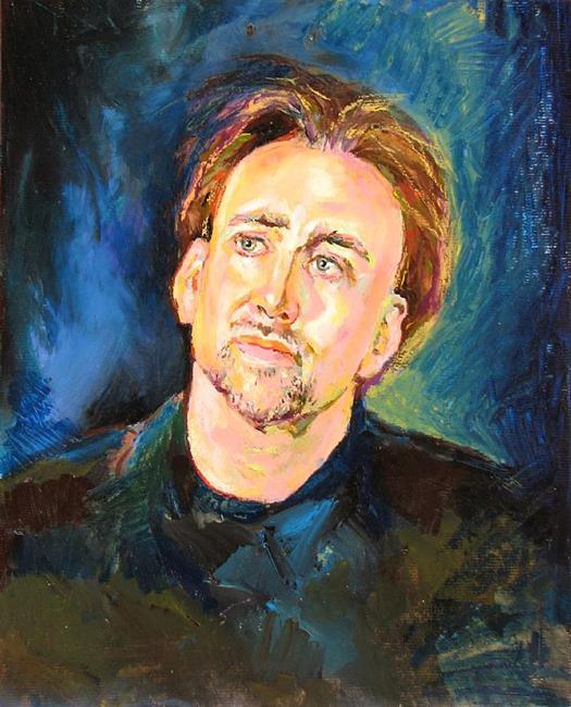 Art: Portrait of Actor by Artist Luda Angel
