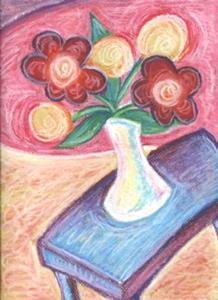 Detail Image for art Happy ~ White Vase