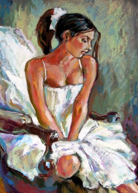 Art: The Ballerina by Artist Luda Angel