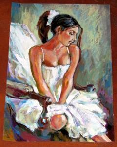 Detail Image for art The Ballerina