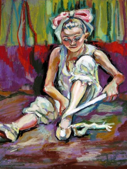 Art: The little Ballerina by Artist Luda Angel
