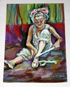 Detail Image for art The little Ballerina