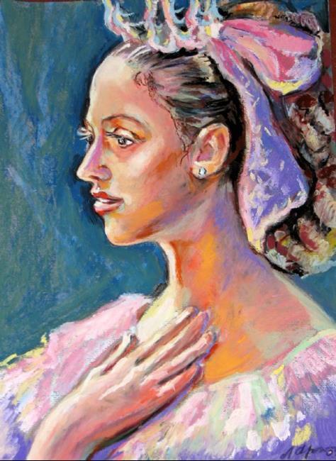 Art: Before Ballet debut by Artist Luda Angel