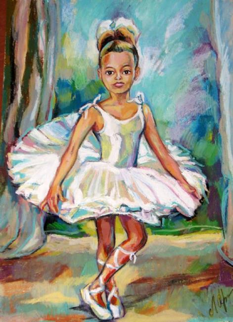 Art: Young Ballet Dancer by Artist Luda Angel