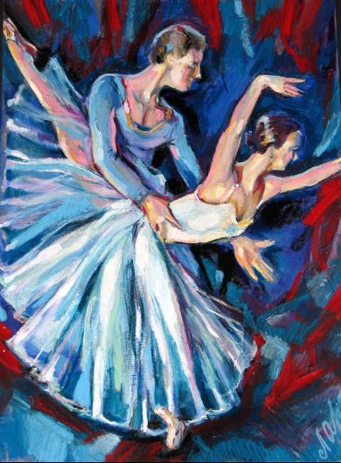 Art: Sketch of dancing by Artist Luda Angel