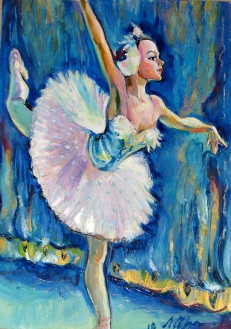 Art: Ballerina by Artist Luda Angel