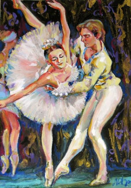 Art: Ballet - Dancers by Artist Luda Angel