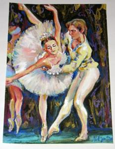 Detail Image for art Ballet - Dancers