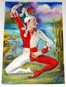 Detail Image for art Clown - Dancer in Ballet