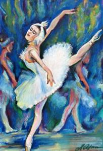 Detail Image for art Dancing in Ballet