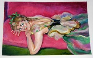 Detail Image for art Resting Dancer