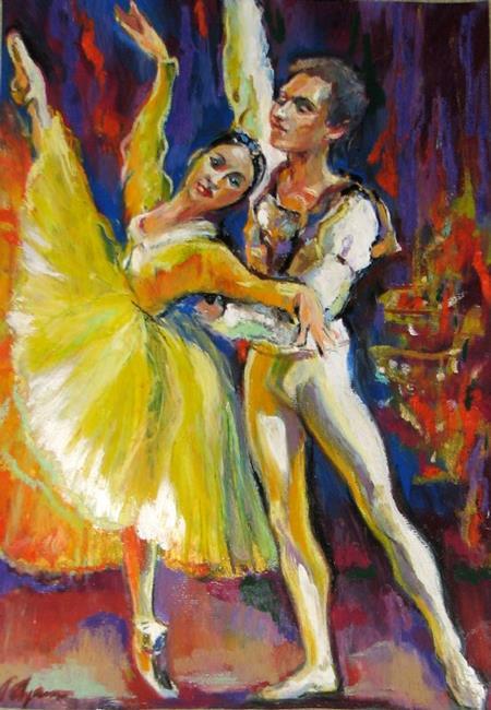 Art: In Dance by Artist Luda Angel