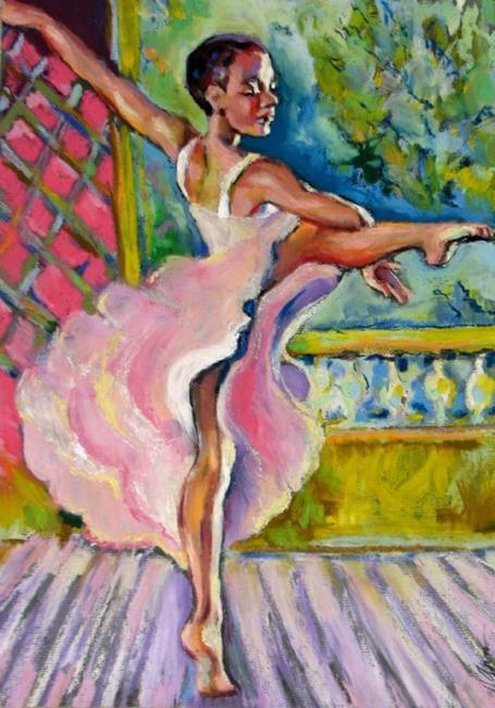 Art: Inspiration dance   by Artist Luda Angel