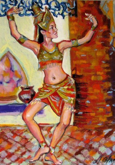 Art: Beautiful dance  by Artist Luda Angel