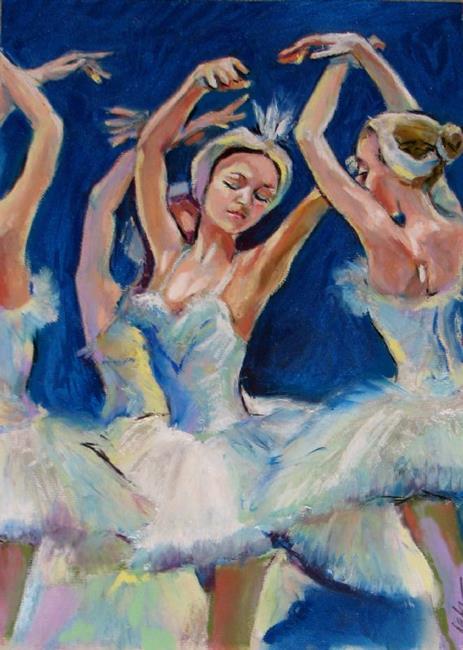 Art: Ballet sketch by Artist Luda Angel