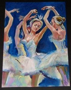 Detail Image for art Ballet sketch