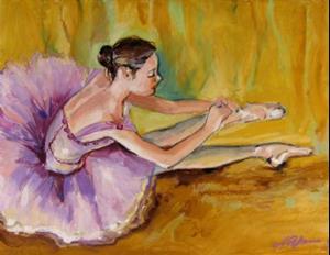 Detail Image for art Sitting ballerina