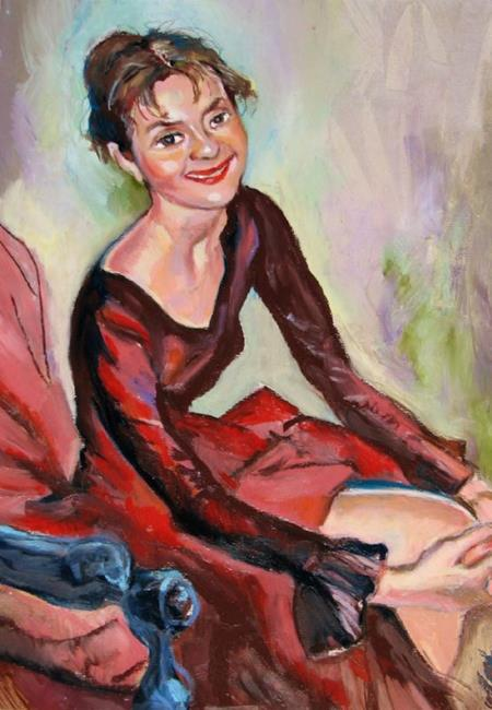Art: Ballet Dancer  portrait by Artist Luda Angel