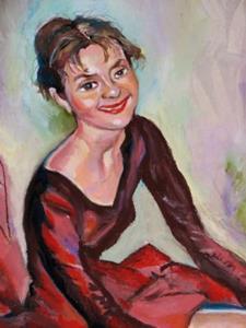 Detail Image for art Ballet Dancer  portrait
