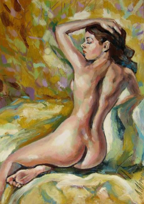 Art: Nude female by Artist Luda Angel