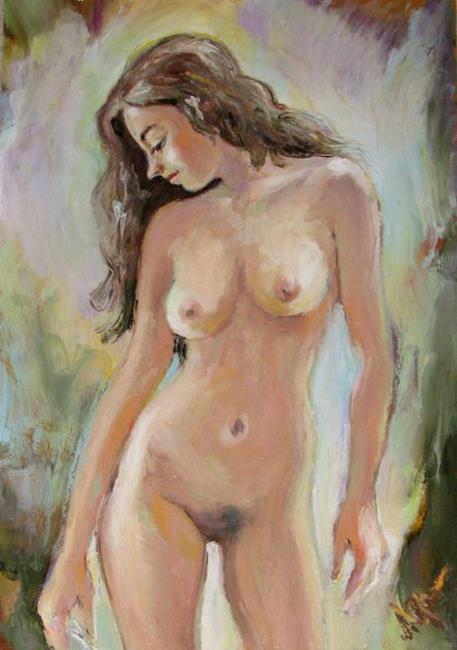 Paintings of female nudes