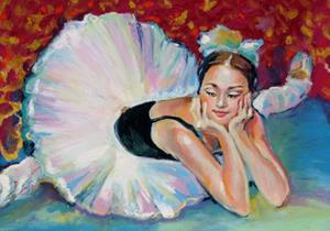Detail Image for art Relaxing Ballet Dancer