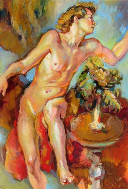 Art: Blonde guy by Artist Luda Angel