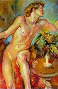 Detail Image for art Blonde guy