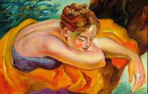 Detail Image for art Snoozing dancer