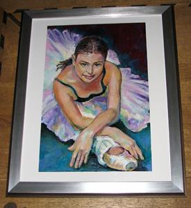 Detail Image for art Young Ballerina