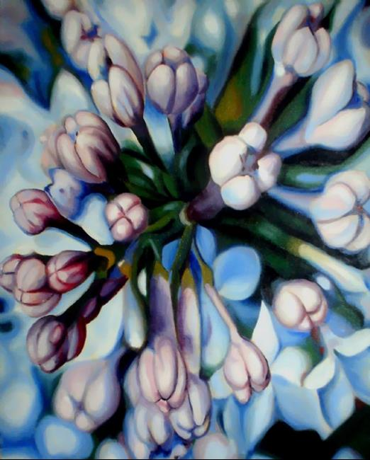 Art: Lilac by Artist Lisa Thornton Whittaker