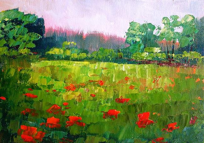 Art: Summer Wildflowers by Artist Kimberly Vanlandingham