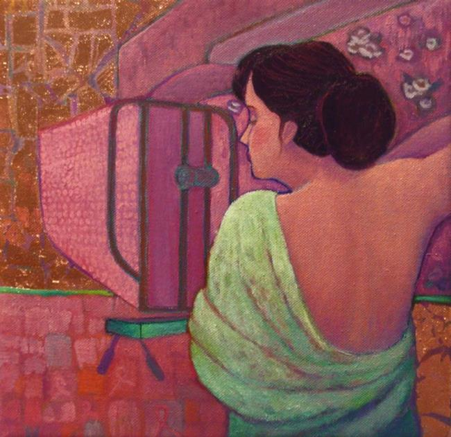 Art: Pink Lady / available by Artist Elizabeth Fiedel