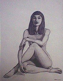 Art: FigureDrawing_275_275.jpg by Artist Pauline Berkes