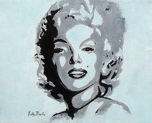 Art: Marilyn by Artist Ulrike 'Ricky' Martin