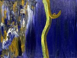 Art: Blue - Sold by Artist Staci Rose